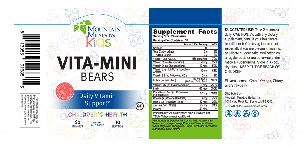 Vita-Mini Bears 60ct