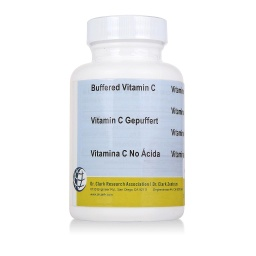 [BVC100] Vitamin C Buffered, 500 mg 100 capsules